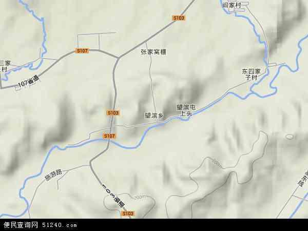 中国辽宁省沈阳市沈北新区望滨地图(卫星地图)
