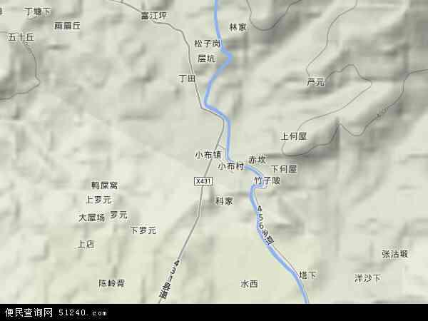 镇地图 小布镇卫星地图 小布镇高清航拍地图 小布镇高清卫星地图 小图片