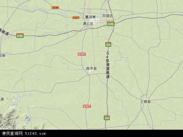 西平县地图 西平县卫星地图 西平县高清航拍地图 西平县高清卫星地图 图片