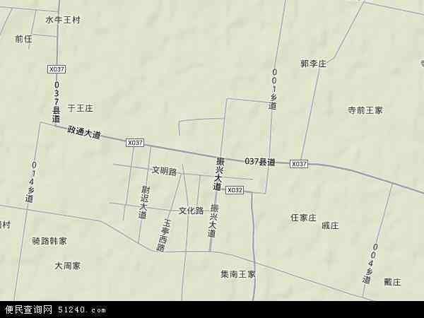 中国安徽省亳州市蒙城县许疃镇地图(卫星地图)
