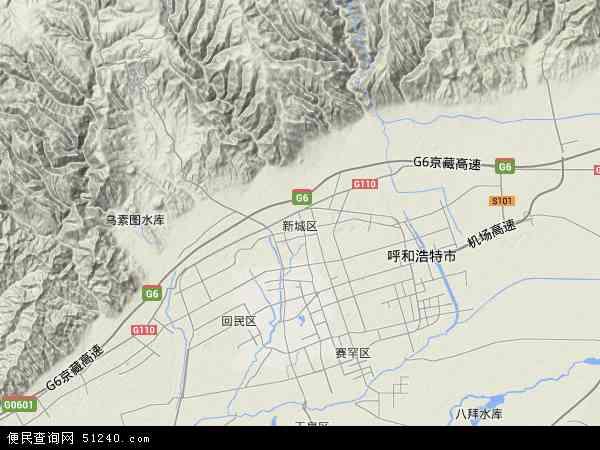 新城区地图 - 新城区卫星地图