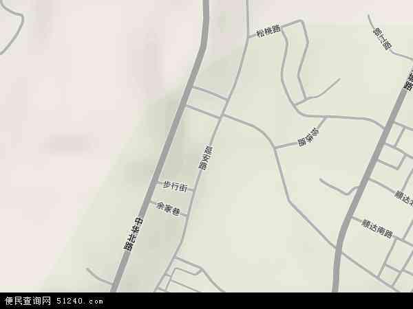 贵州省 遵义市 红花岗区 延安路  本站收录有:2016延安路卫星地图高清