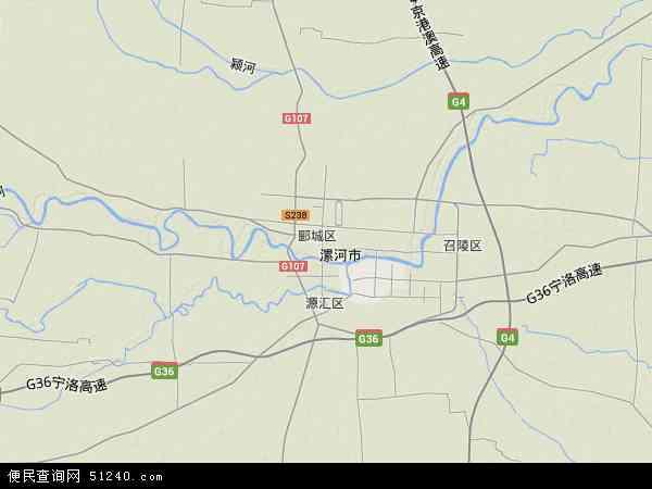 孟庙手绘地图画