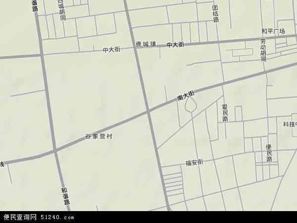 友谊路地图 - 友谊路卫星地图