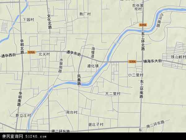 遵化镇地图 - 遵化镇卫星地图