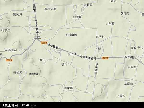中国 河南省 郑州市 新密市 超化镇  本站收录有:2018超化镇卫星地图图片