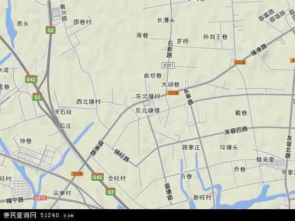 东北塘电子地图,2014东北塘地图
