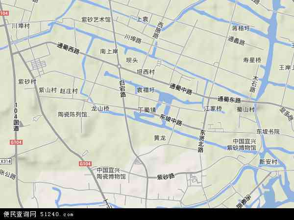 2014天地图宜兴高塍红塔士地航拍图