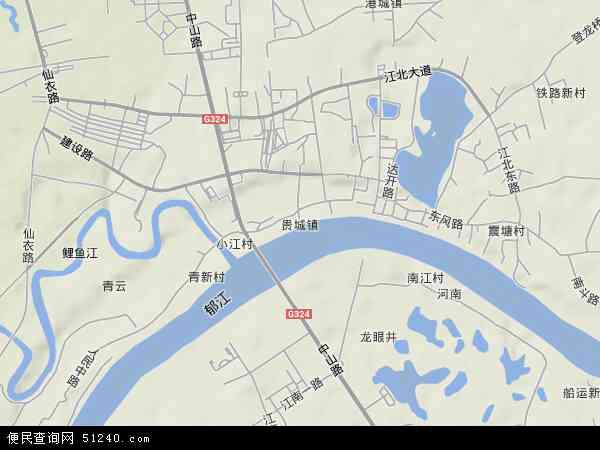 贵城地图 贵城卫星地图 贵城高清航拍地图 贵城高清卫星地图 贵城2017