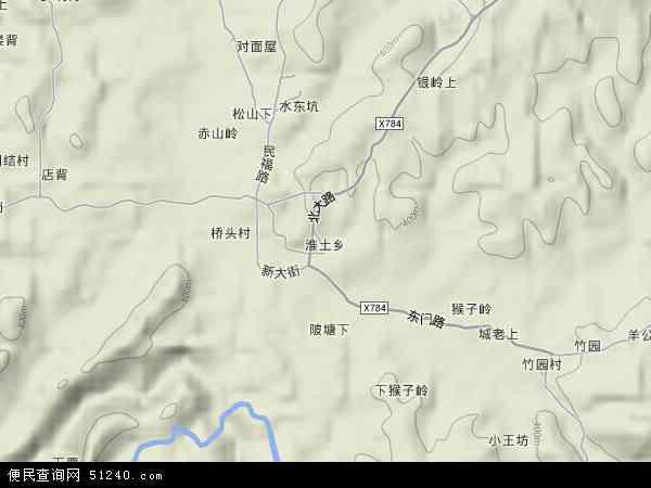 淮土乡地图 - 淮土乡卫星地图 - 淮土乡高清航拍地图