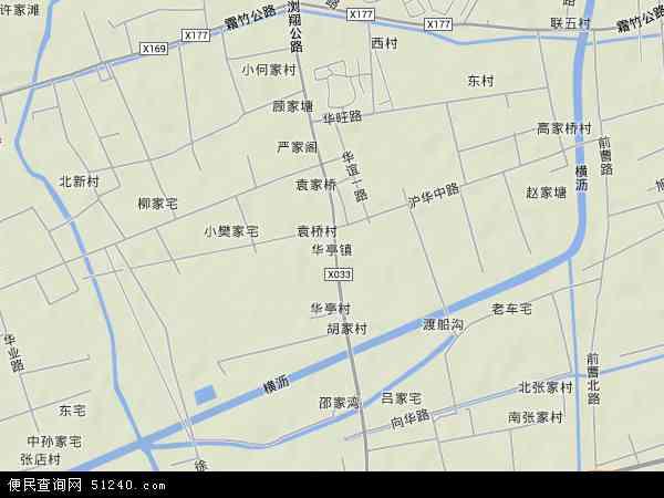 华亭镇地图 - 华亭镇卫星地图