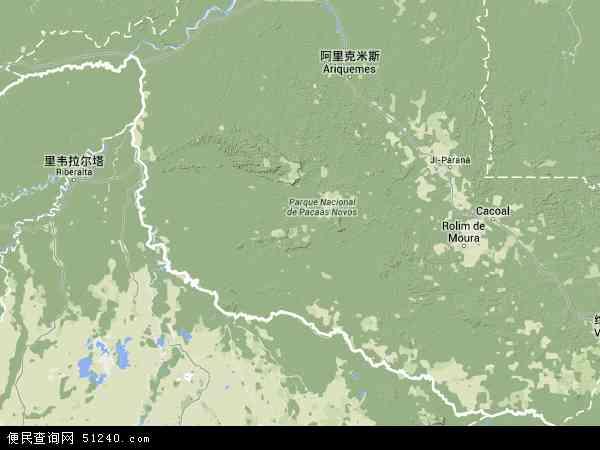 朗多尼亚电子地图,2014朗多尼亚地图