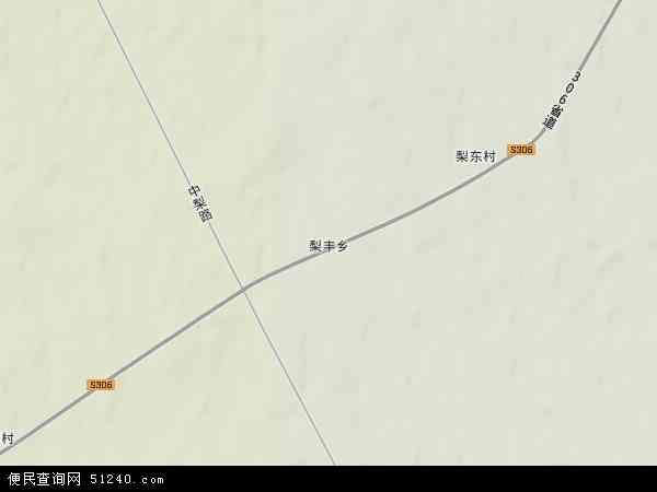中国黑龙江省佳木斯市桦川县梨丰乡地图(卫星地图)