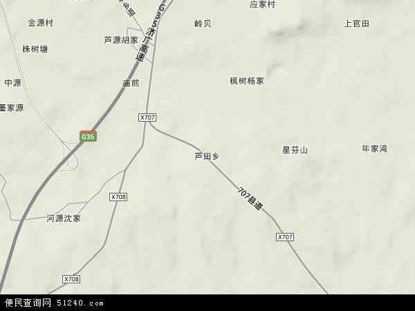 芦田高速路口地图