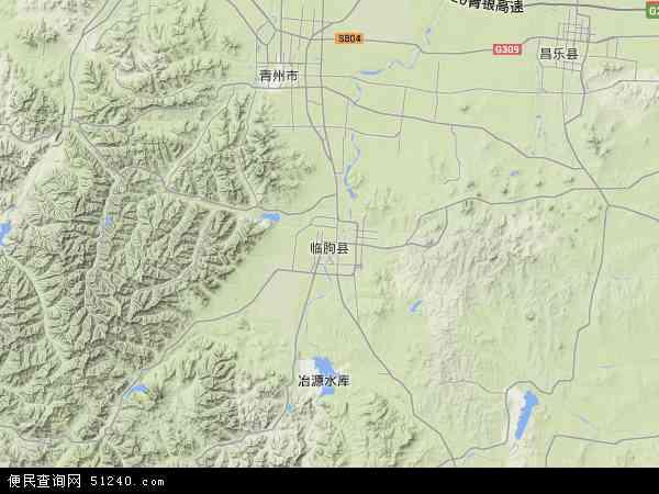 山东省潍坊市地图_临朐县地图 - 临朐县卫星地图 - 临朐县高清航拍地图