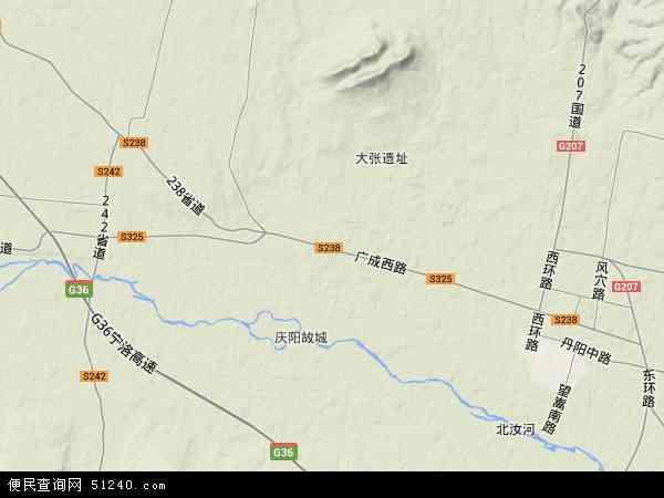 中国河南省平顶山市汝州市庙下镇地图(卫星地图)