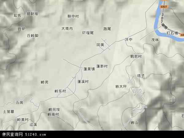 福建省 泉州市 安溪县 蓬莱镇  本站收录有:2018蓬莱镇卫星地图高清版