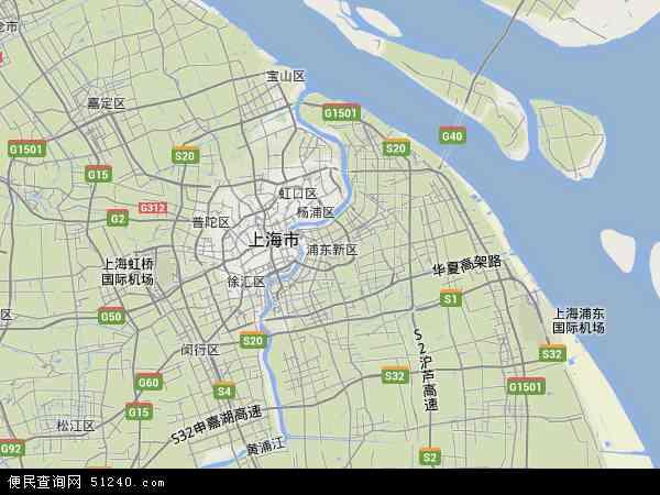 上海市地图高清版2017_上海市地图高清版