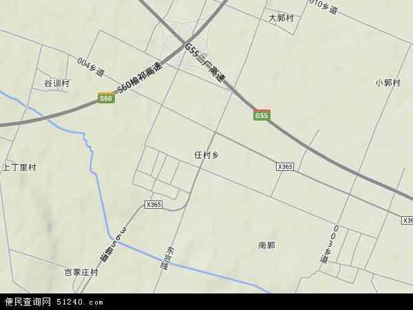 中国山西省晋中市太谷县任村乡地图(卫星地图)
