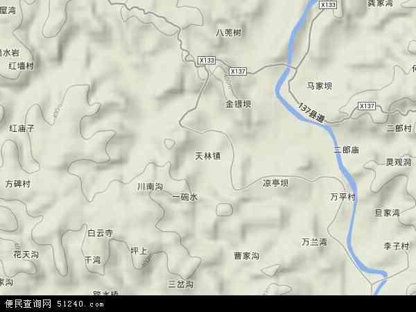 中国 四川省 资阳市 安岳县 天林镇  本站收录有:2018天林镇卫星地图