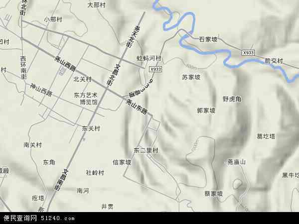 天坛镇地图 - 天坛镇卫星地图