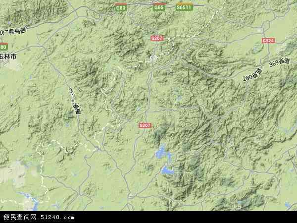 信宜市地图 - 信宜市卫星地图 - 信宜市高清航拍地图