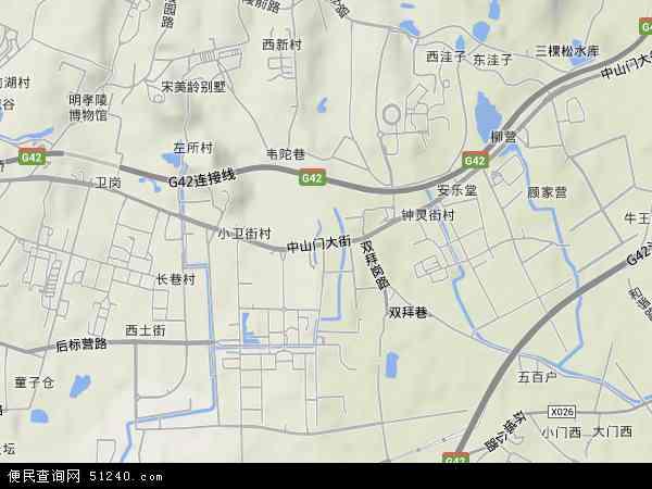 南京孝陵卫人口多少_南京人口密度分布图