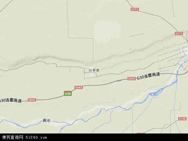 陕西省兴平市南市镇_兴平市地图 - 兴平市卫星地图 - 兴平市高清航拍地图