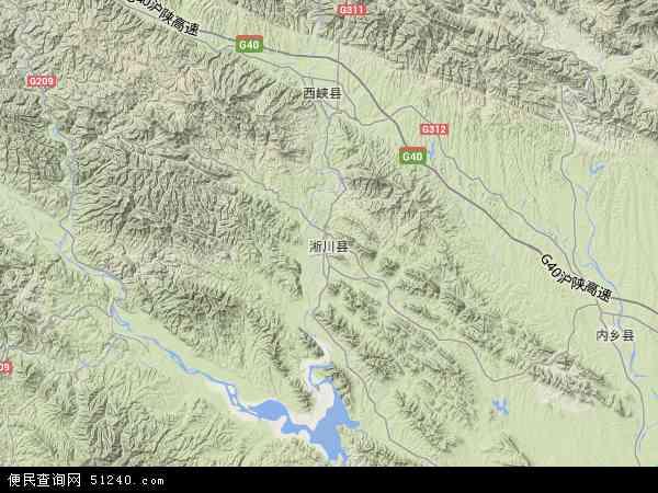 大石桥市卫星地图_淅川县地图 - 淅川县卫星地图 - 淅川县高清航拍地图
