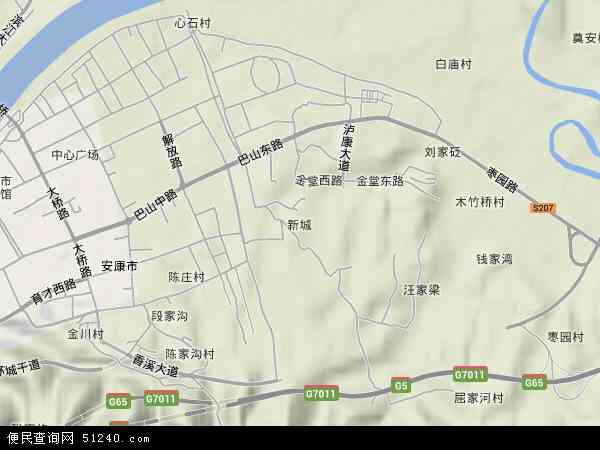新城高清航拍地图 新城高清卫星地图 新城2017年卫星地图 中国陕西