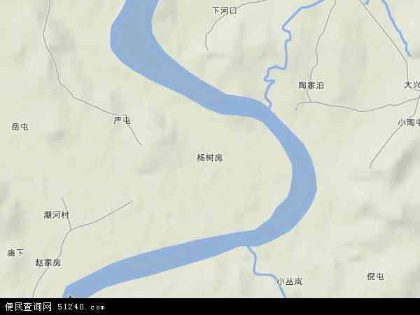 中国辽宁省大连市普兰店市杨树房地图(卫星地图)