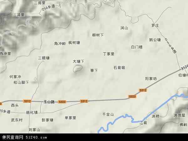 青岛秦家土寨村地图