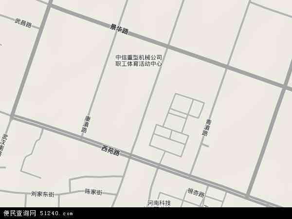 洛阳市涧西区地图