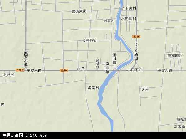 柏城镇地图 柏城镇卫星地图 柏城镇高清航拍地图 柏城镇高清卫星地图