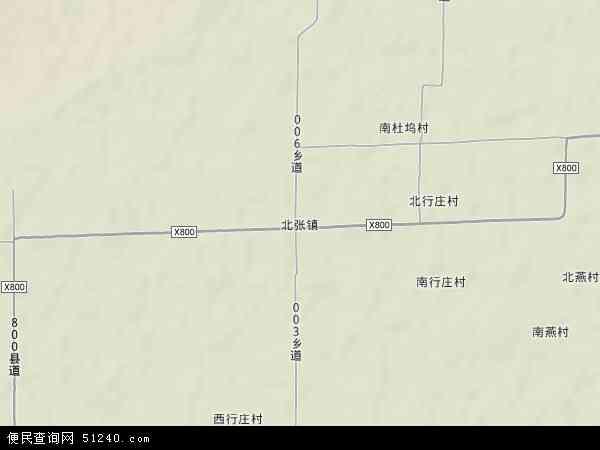 中国山西省运城市新绛县北张镇地图(卫星地图)