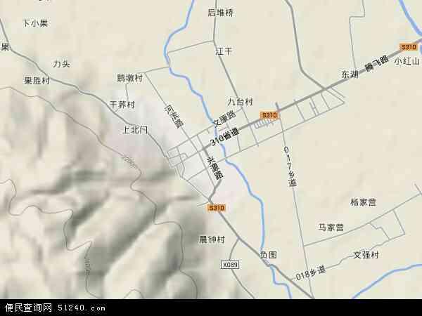 洱源县茈碧湖镇地图图片