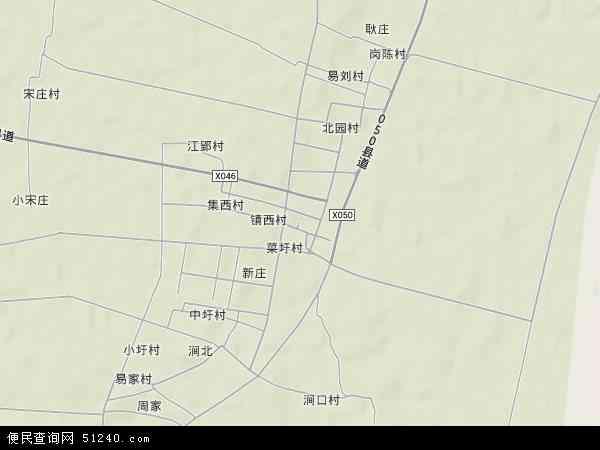 中国安徽省蚌埠市怀远县常坟镇地图(卫星地图)