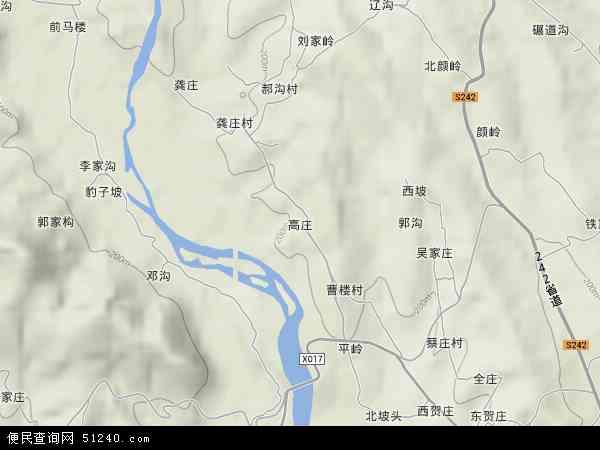 高庄地图 高庄卫星地图 高庄高清航拍地图 高庄高清卫星地图 高庄2018图片