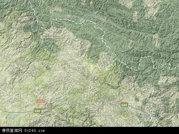 广南县地图 - 广南县卫星地图