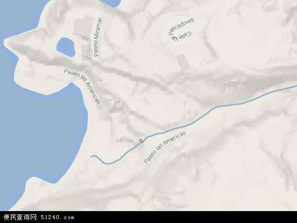 科科斯群岛地形图 - 科科斯群岛地形图高清版 - 2016年科科斯群岛地形图