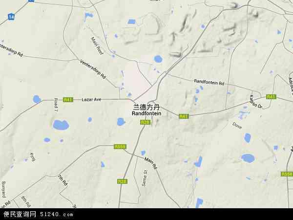兰德方丹高清卫星航拍地图