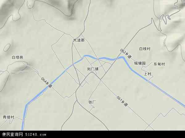 刘厂镇地图 - 刘厂镇卫星地图 - 刘厂镇高清航拍地图