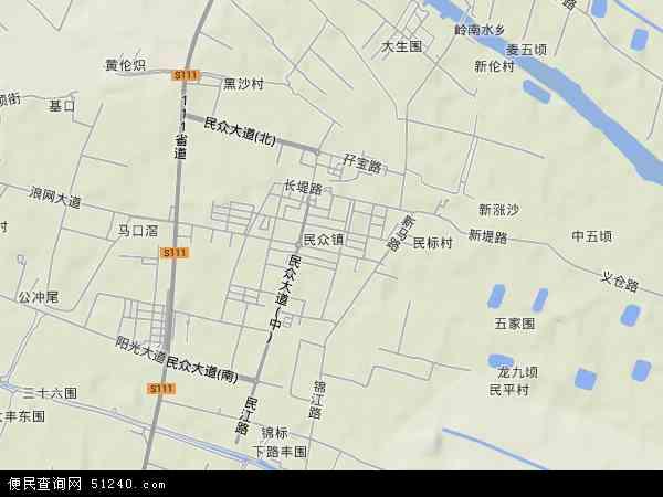 沙民照片_民众镇地图 - 民众镇卫星地图 - 民众镇高清航拍地图