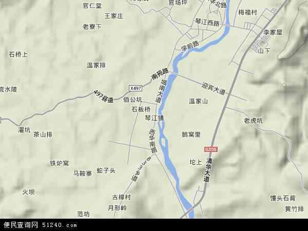 镇地图 琴江镇卫星地图 琴江镇高清航拍地图 琴江镇高清卫星地图 琴图片