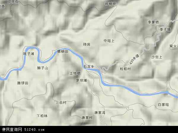 石龙乡地图 石龙乡卫星地图 石龙乡高清航拍地图 石龙乡高清卫星地图 图片