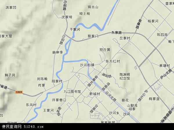 九江市 九江县 沙河街镇  本站收录有:2017沙河街镇卫星地图高清版