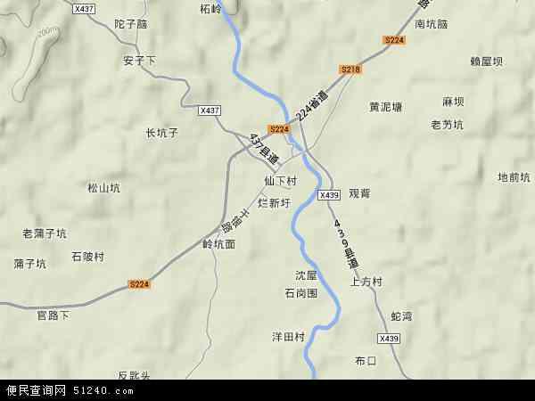 于都县仙下乡彭姓人口_于都县各乡镇地图