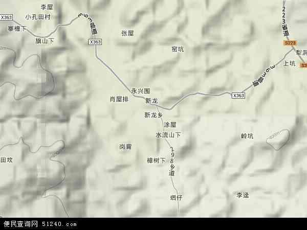 乡地图 新龙乡卫星地图 新龙乡高清航拍地图 新龙乡高清卫星地图 新图片