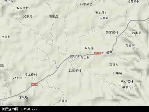 兴旺镇地图 兴旺镇卫星地图 兴旺镇高清航拍地图