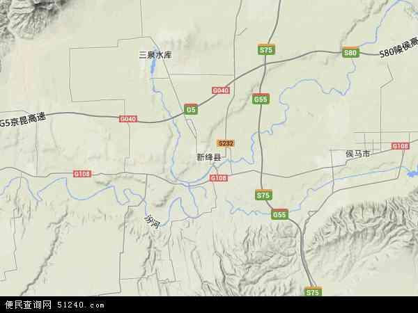 新绛县地图 新绛县卫星地图 新绛县高清航拍地图 新绛县高清卫星地图 图片